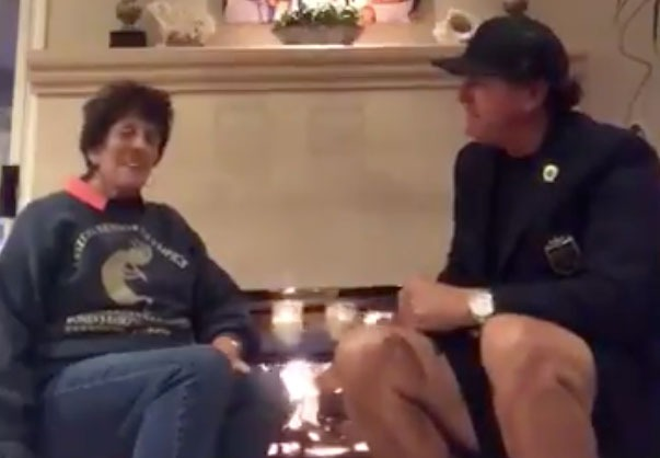 Mary Mickelson, Phil Mickelson