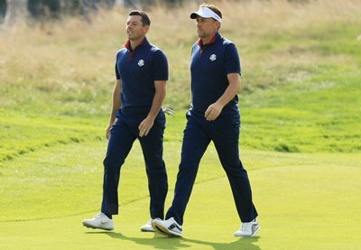 Rory McIlroy, Ian Poulter