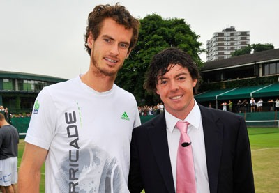 Andy Murray, Rory Mcilroy