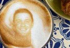 Bryson DeChambeau latte art