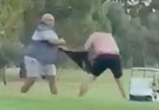 Golf fight