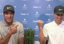 Tony Finau & Cameron Champ