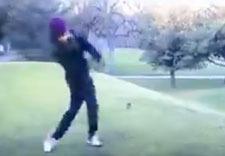 Golf fail